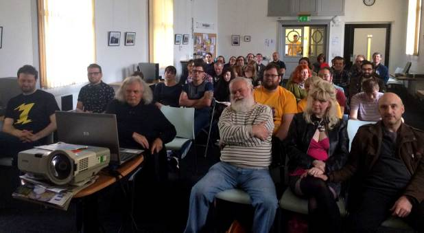 A full house for the Breaking Into Comics panel. Photo: John Freeman