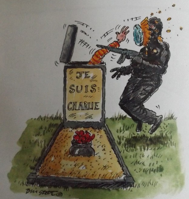 Pie in a Gravestone