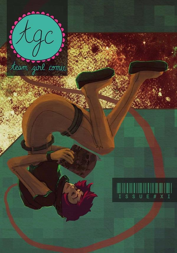 Team Girl Comic 11 Cover
