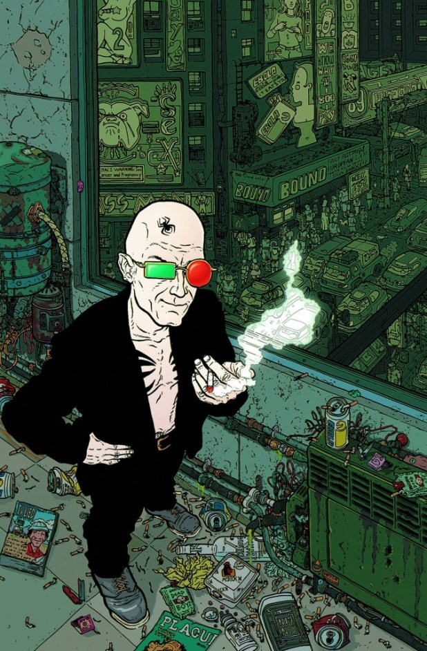 Absolute Transmetropolitan Hard Cover Volume 1