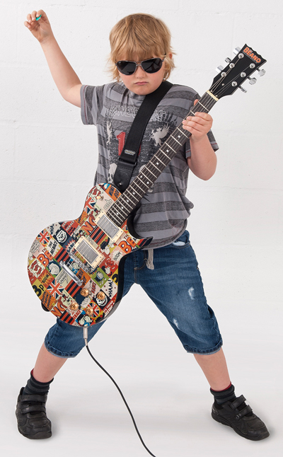 JHS The Beano Electric Guitar Promotional Image