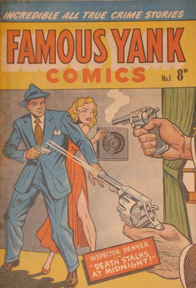 Famous Yank Comics Number 1