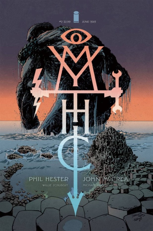 The Declan Shalvey cover for Mythic #2