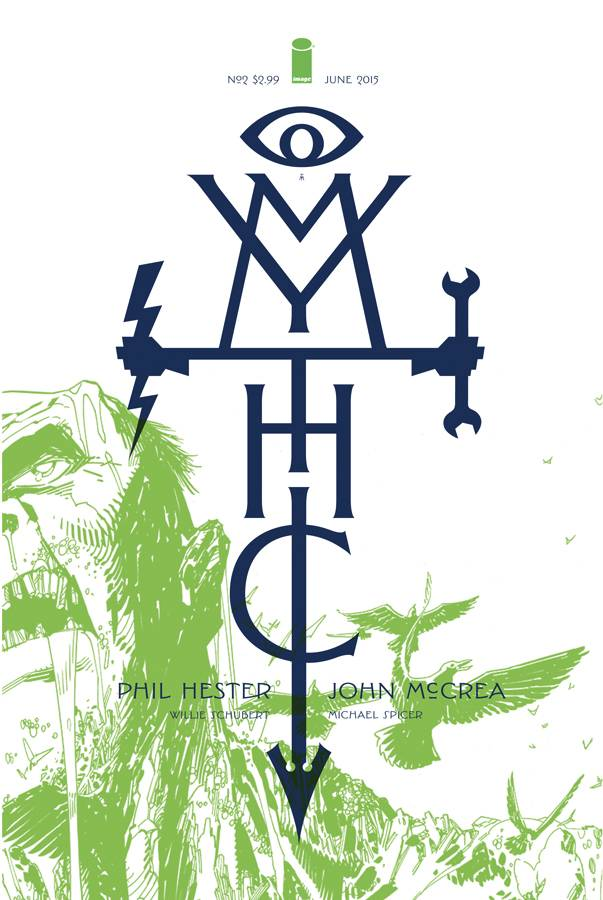 Mythic #2 Cover A