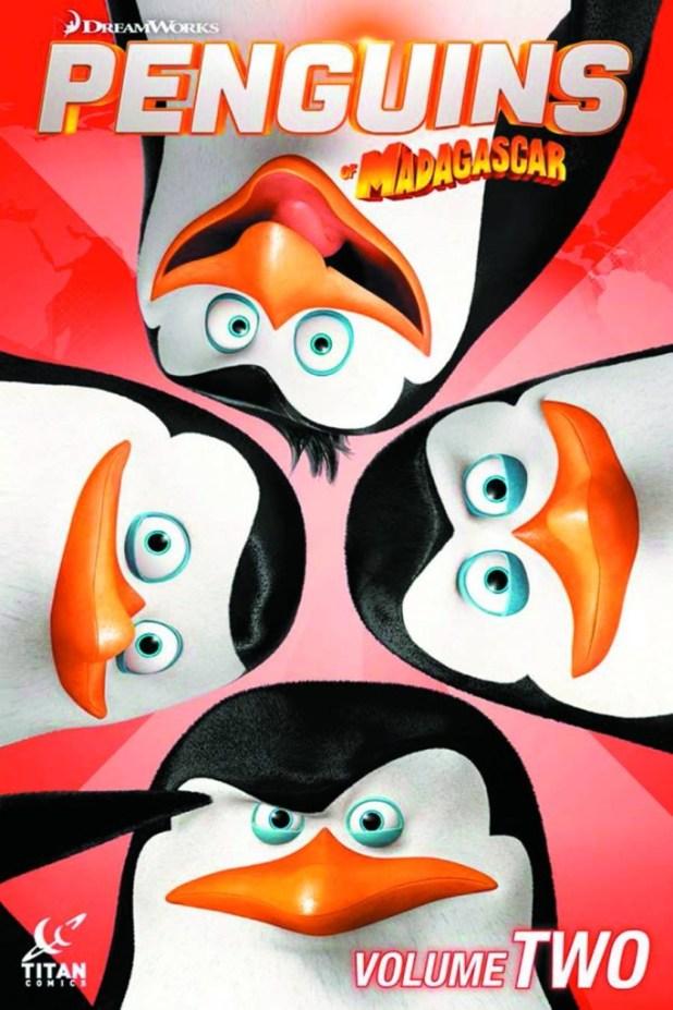 Penguins Of Madagascar Trade Paperback Volume 2