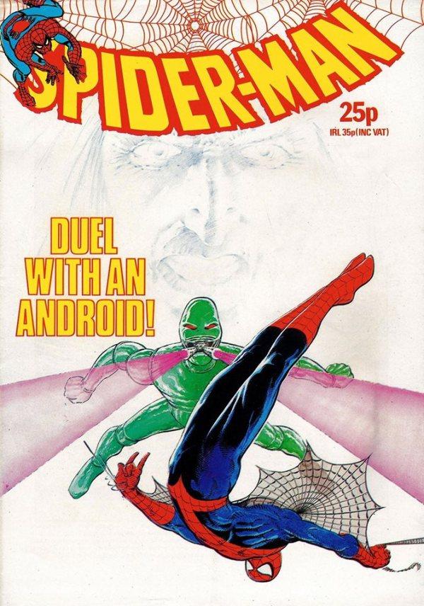 Spider-Man art by Leigh Baulch