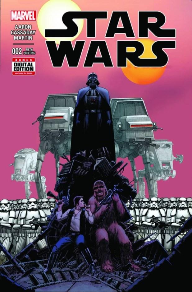 Star Wars #2 Cassaday 5th Printing Variant