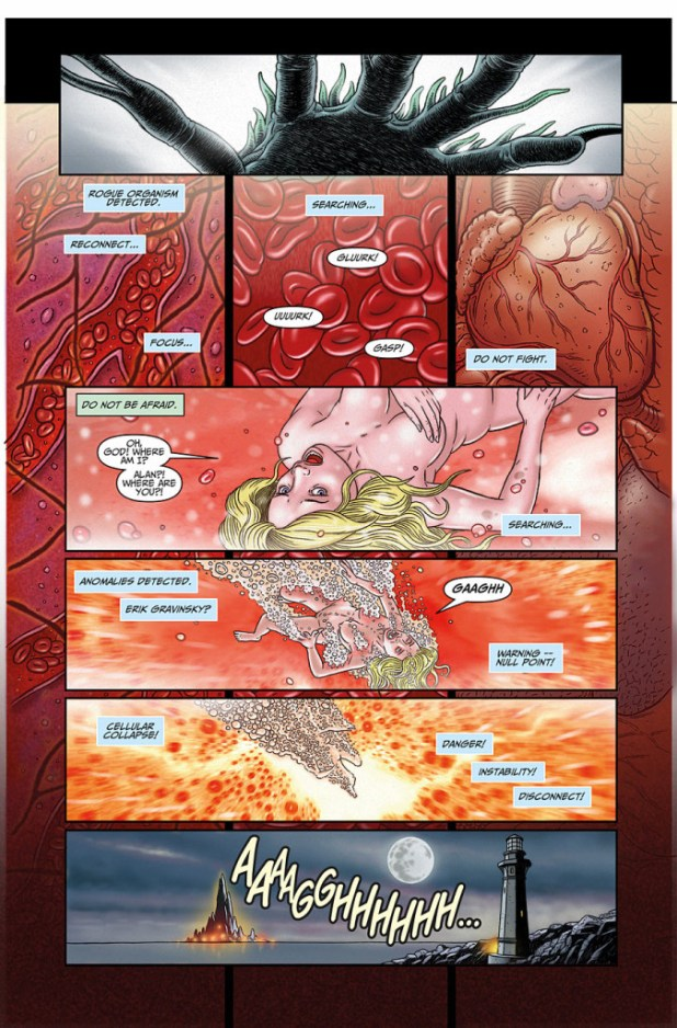 Surface Tension #2 - Sample Page 3