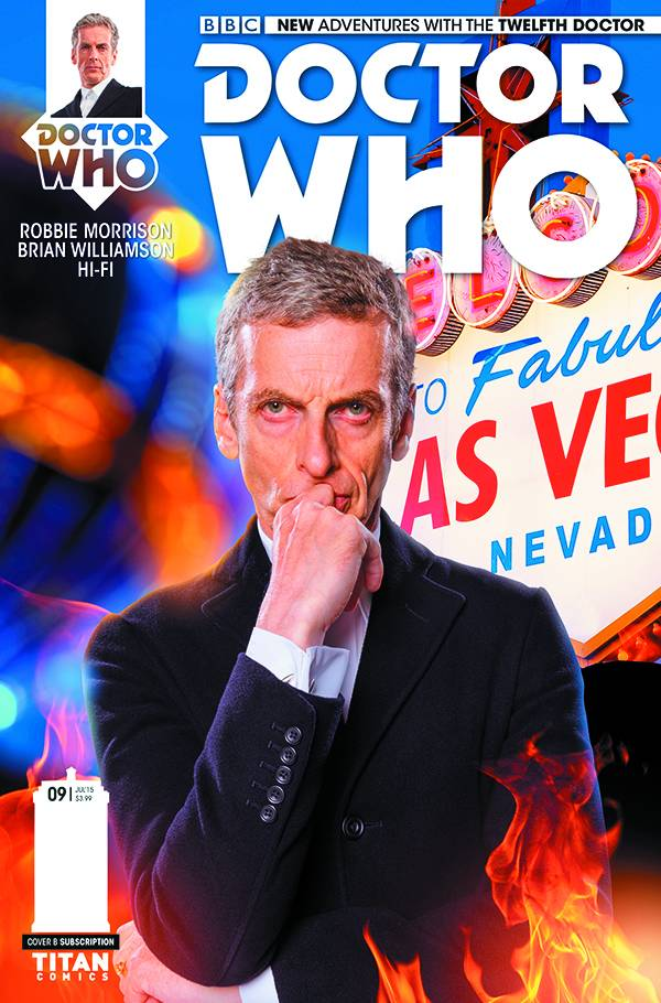 Doctor Who 12th #9 - Cover Subs