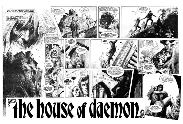 The House of Daemon - Sample Art