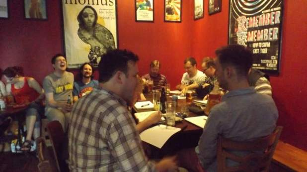 Glasgow Comic Con 2015 - Drink and Draw
