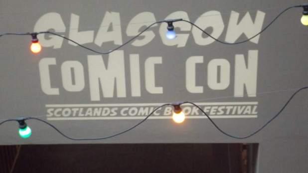 Glasgow Comic Con 2015 Title