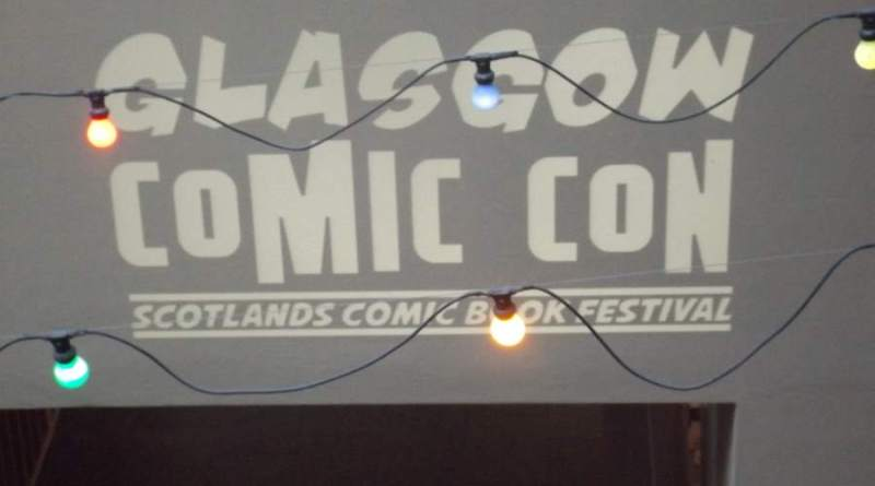 Glasgow Comic Con 2015 Title