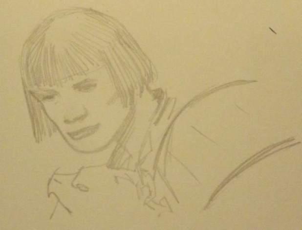 Judge Hershey Sketch by Paul Moore