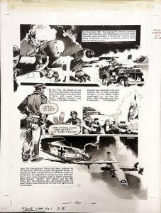 True War Issue One Page 5 - art by Jim Watson