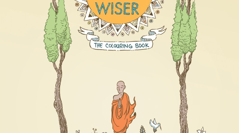 One Year Wiser Colouring Book - Cover