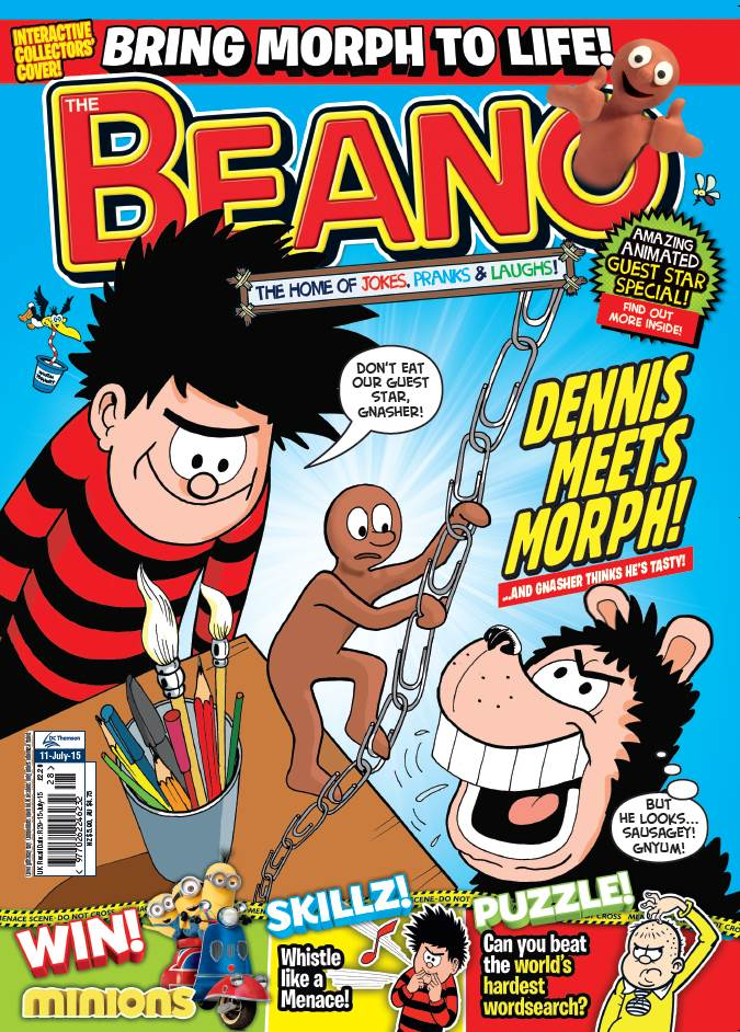 The Beano - Cover Dates 11th July 2015