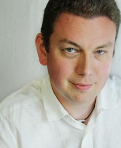 Cavan Scott. Photo courtesy the author