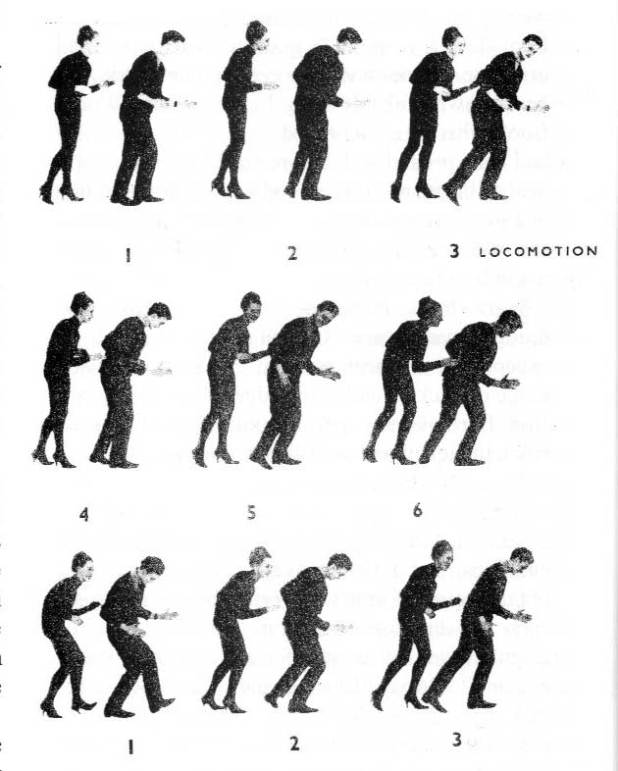 You wanted to know how to Do The Locomotion, didn't you? Well, now you know.