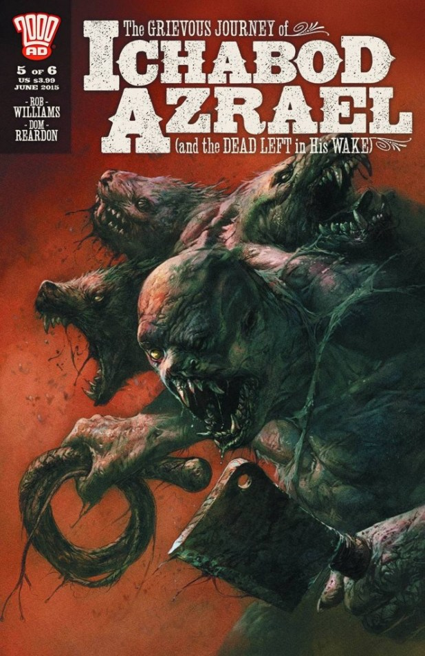 Grievous Journey Of Ichabod Azrael #5
