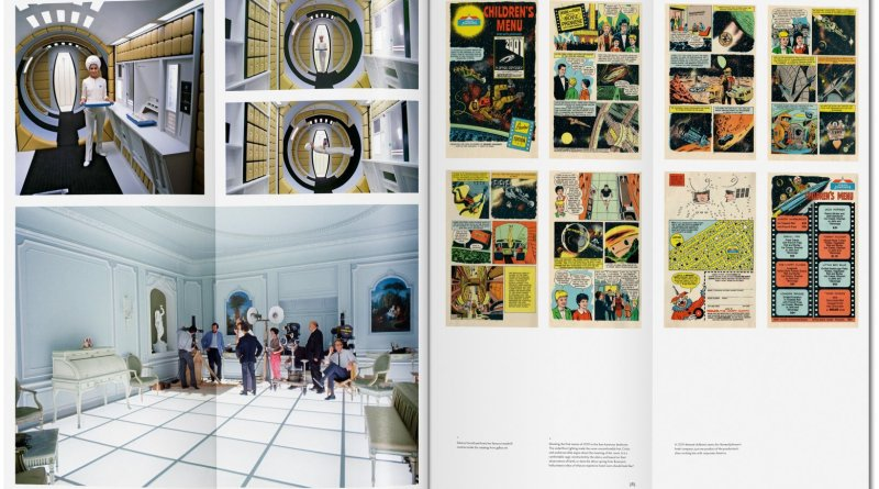 The Making of Stanley Kubrick's '2001: A Space Odyssey' - Sample Spread 3