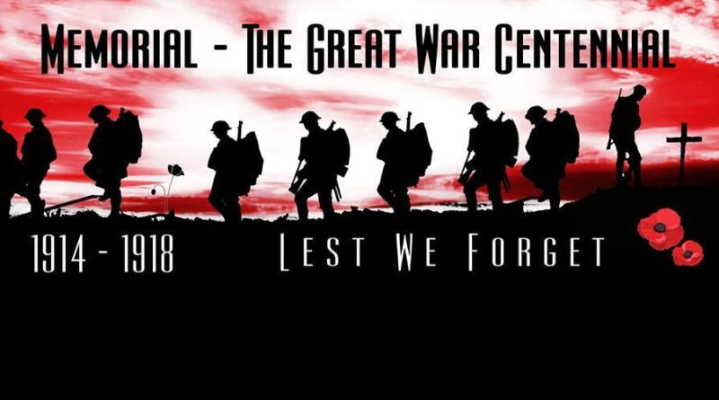 Memorial - Great War Anthology Banner
