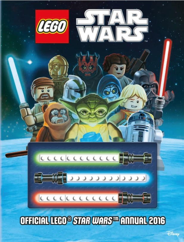 The Official Lego Star Wars Annual