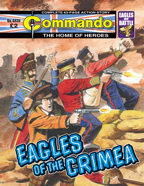 Commando No 4839 – Eagles of the Crimera