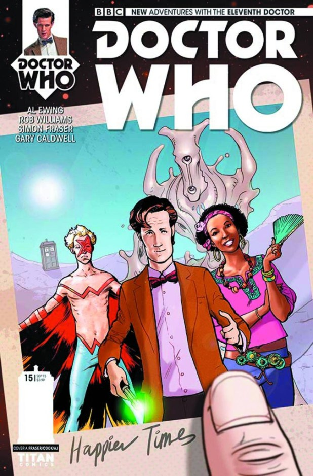 Doctor Who: The Eleventh Doctor #15 - Cover A