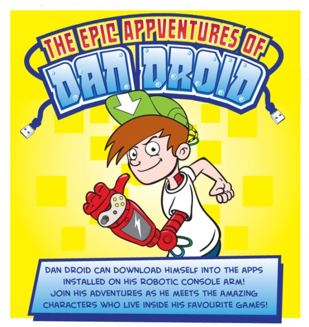 The Epic Appventures of Dan Droid