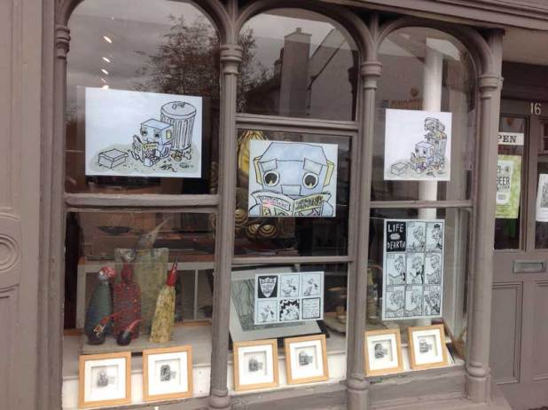 Signature Gallery window art. Photo: Sandra Wood