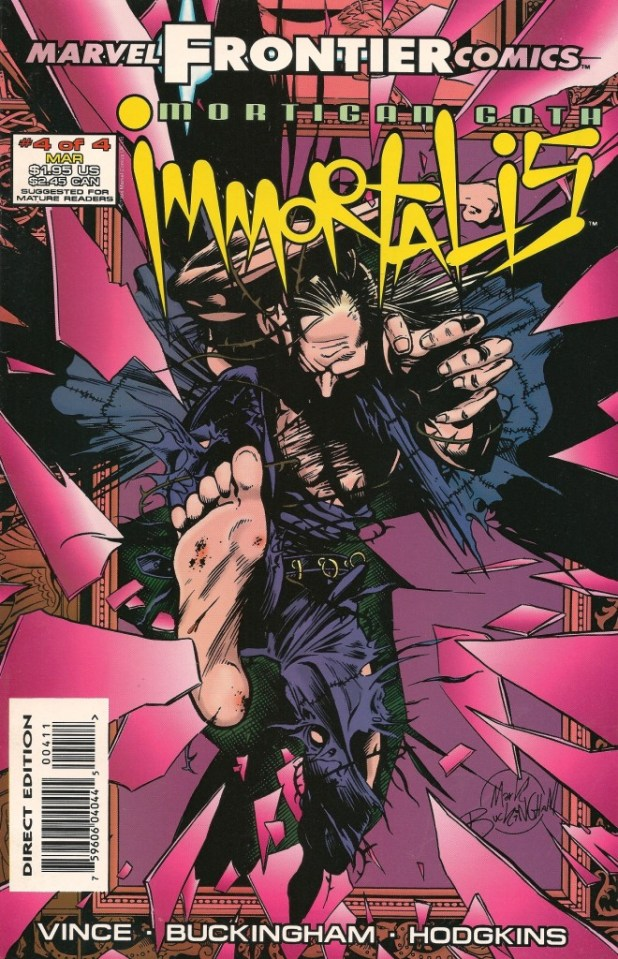 Mortigan Goth: Immortalis #4
