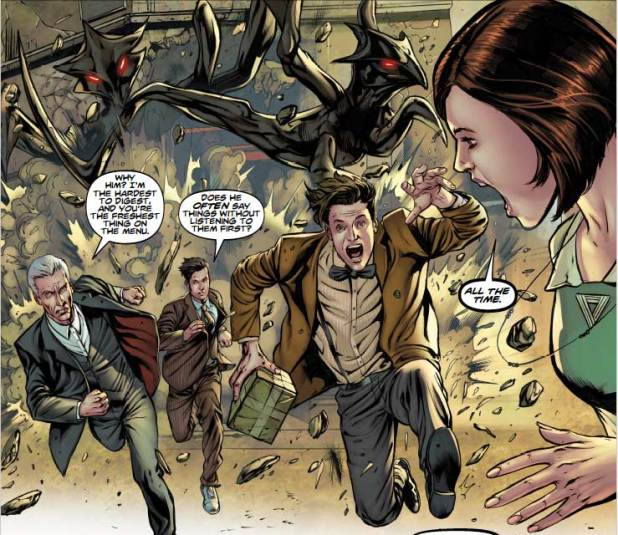 Doctor Who: Four-Doctors #2