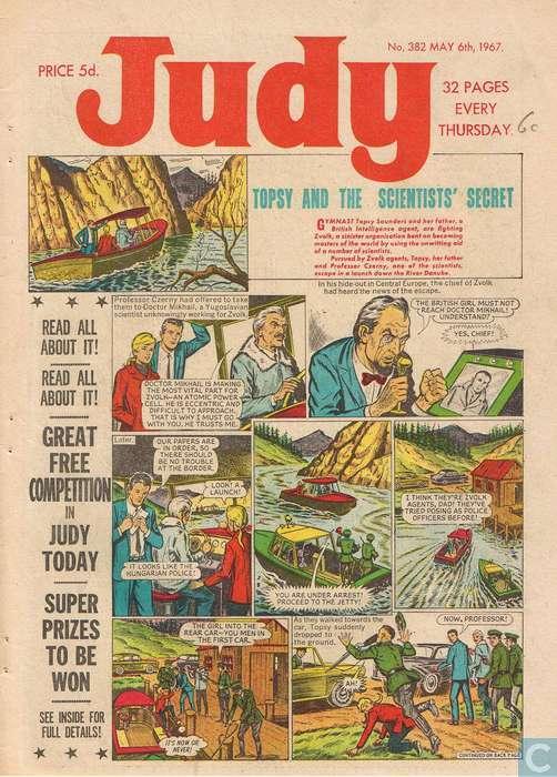 Judy - 6th May 1967