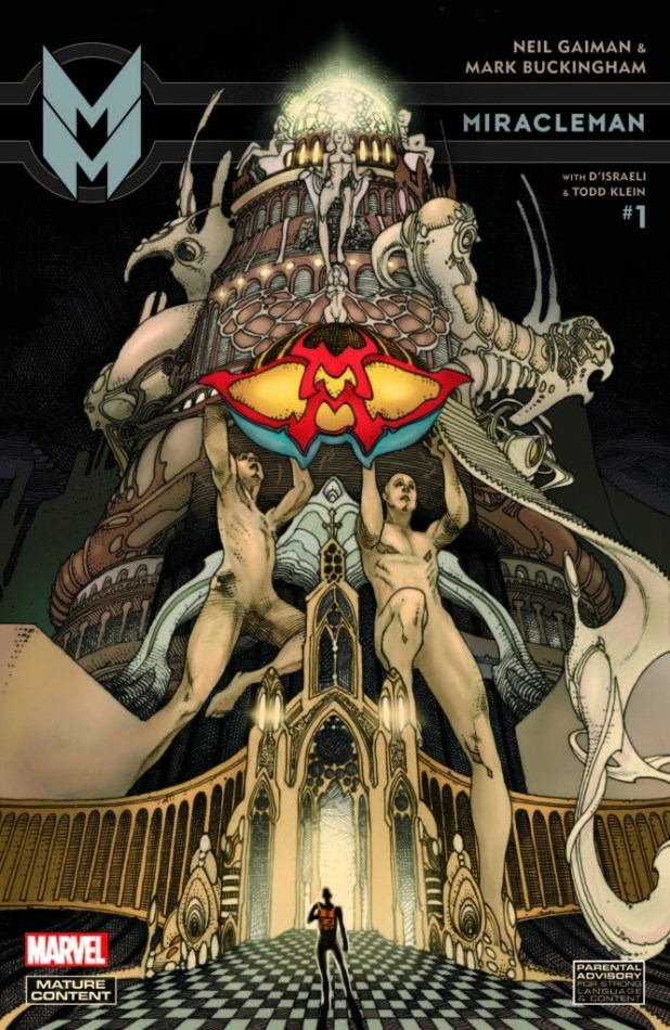 Miracleman #1 Volume 2 variant cover by Simone Bianchi