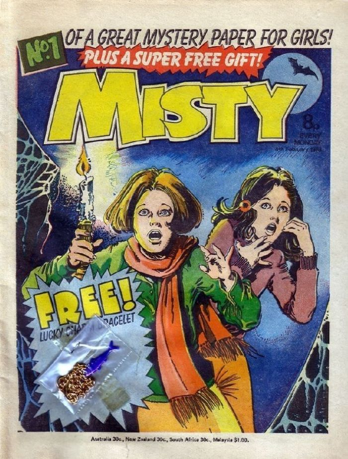 Misty Comic Issue 1, complete with free gift