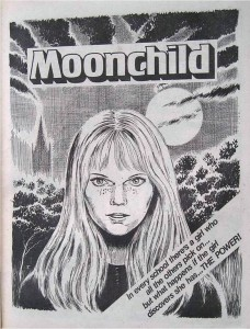 """""""Moonchild"""", a strip for Misty written by Pat Mills, drawn by John Armstrong"""