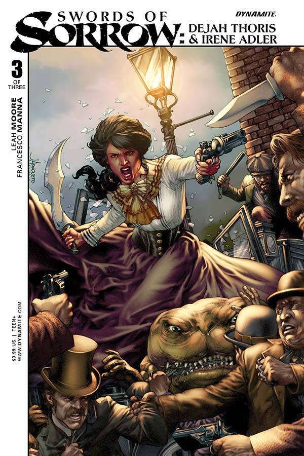 Swords Of Sorrow Thoris Adler #3