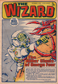 Wizard, cover dated 1 September 1973