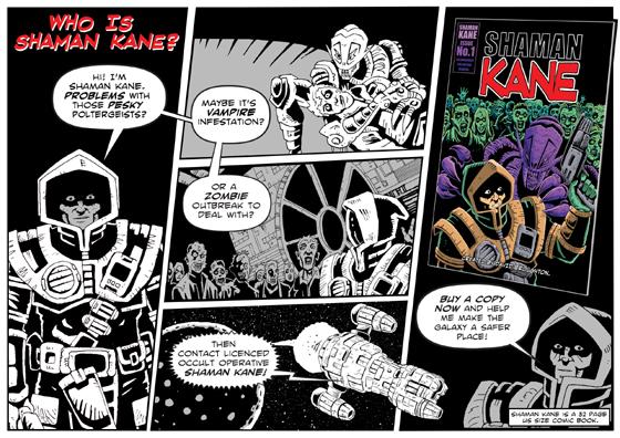 Shaman Kane - Who is Shaman Kane?