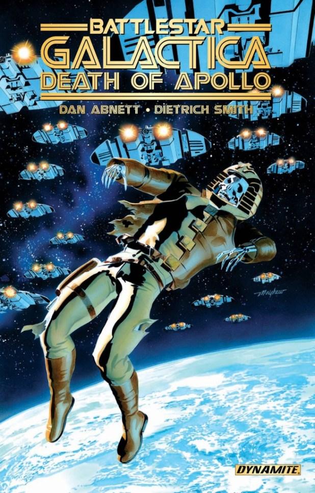 Battlestar Galactica Death Of Apollo Trade Paperback