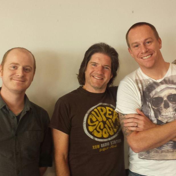 Dan Berry, Charlie Adlard and Jon Laight