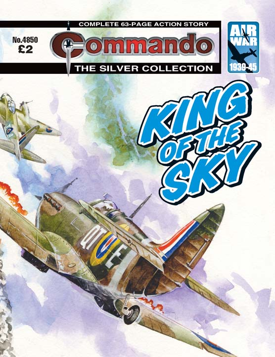 Commando No 4850 — King Of The Sky