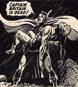 Hulk Weekly - Black Knight Panel