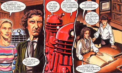"""""""The Time of the Daleks"""" by Martin Geraghty, from Doctor Who Magazine 317"""