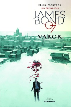 Dom Reardon's cover for James Bond #1