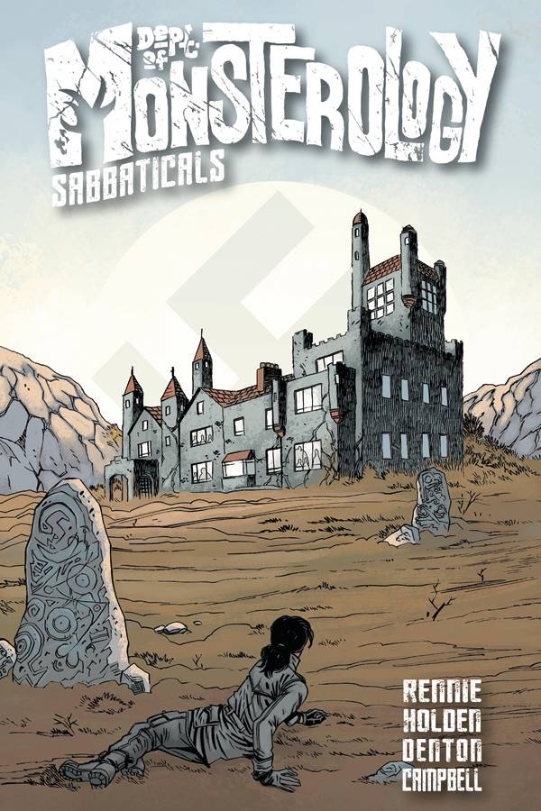 Dept. of Monsterology: Sabbaticals Graphic Novel - Print Cover
