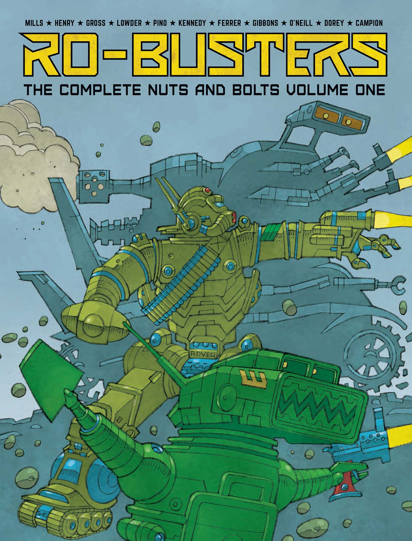 In Review Ro Busters The Complete Nuts And Bolts Volume