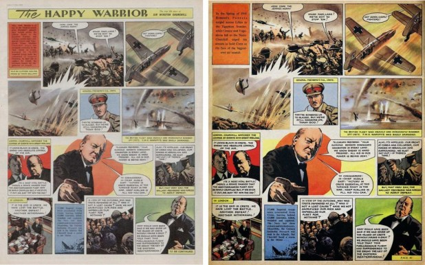 The Happy Warrior - Strip Pages