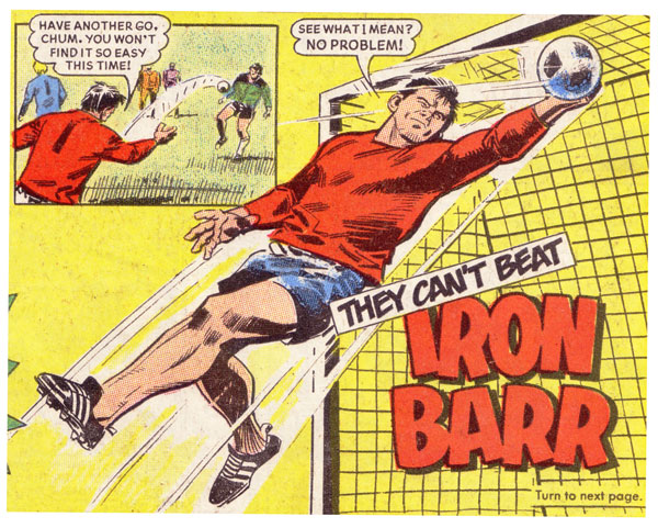 Spike: Iron Barr